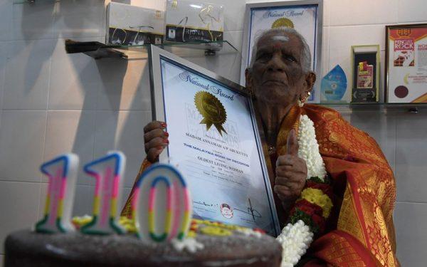 Malaysia's oldest woman still giving advice on herbs, longevity